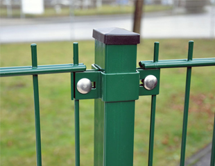 Steel Clamps for Welded Mesh Fence Panel