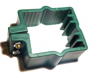 Plastic Clamps for Welded Mesh Panel Fence